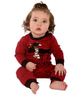 Moosletoe Infant Union Suit (C)