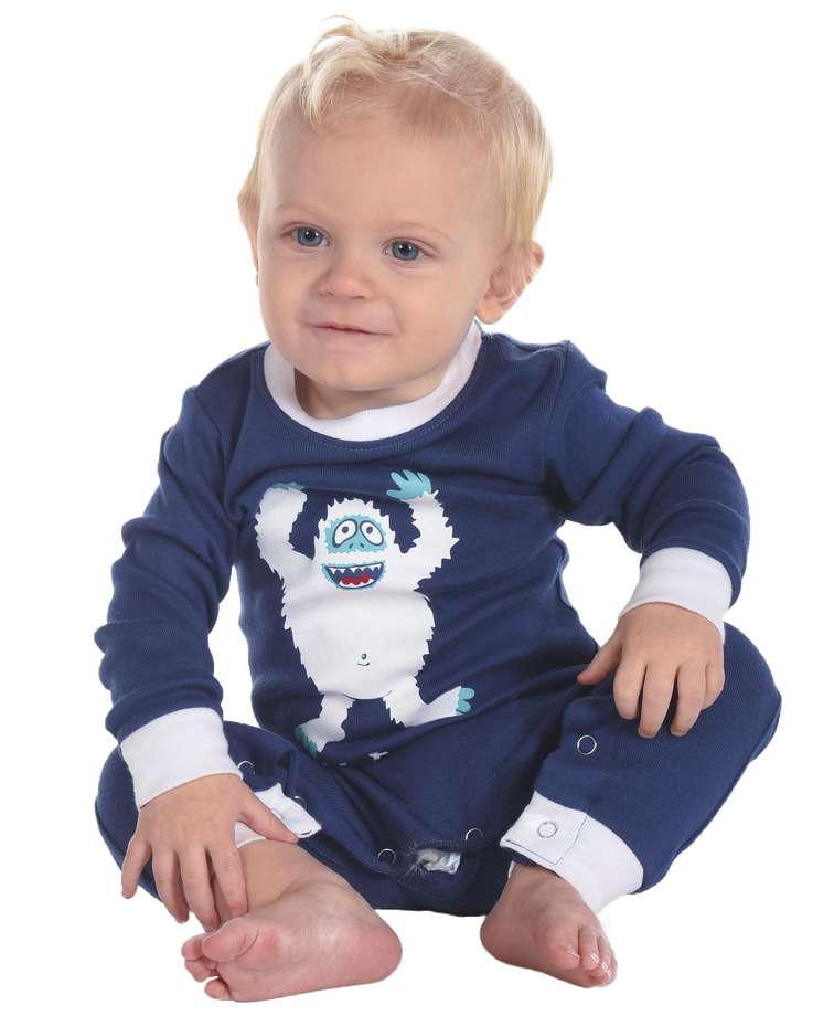 Yeti for Bed Infant Union Suit