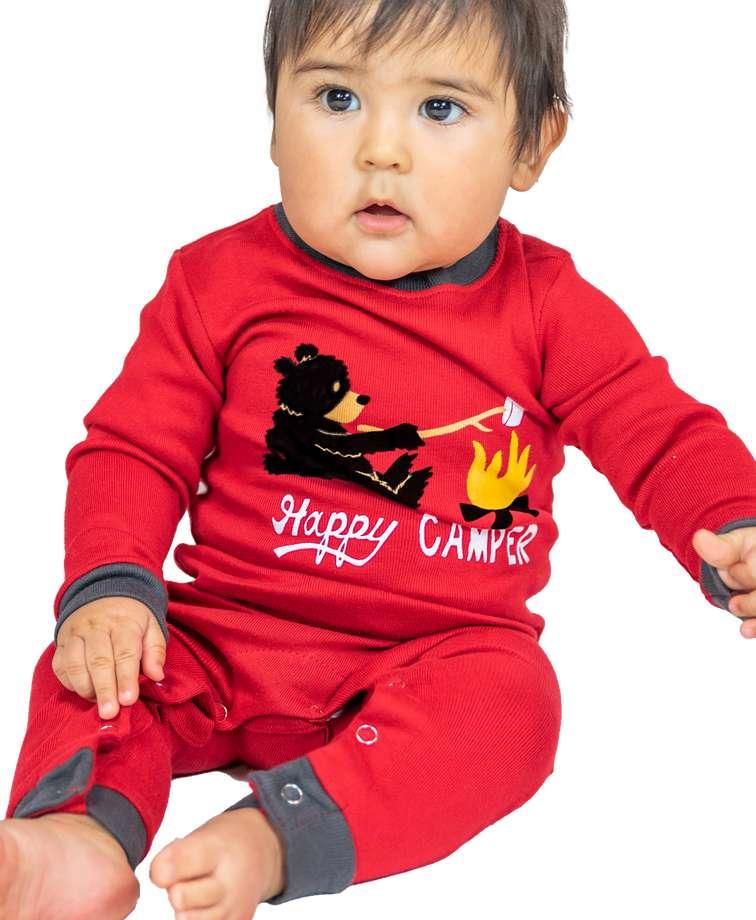 Happy Camper | Infant Union Suit