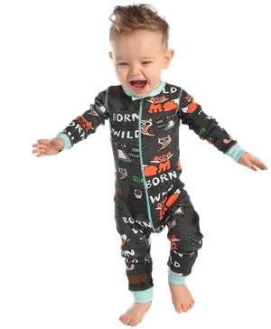 Born Wild | Infant Union Suit