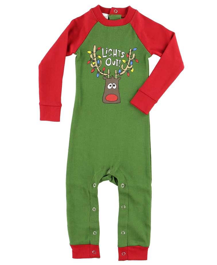 Lights Out   Infant Union Suit