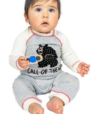 Call of the Wild Infant Bear Union Suit