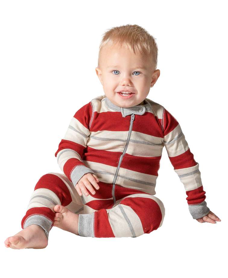 Country Stripe Infant Union Suit