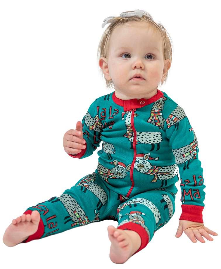 Llama | Infant Union Suit