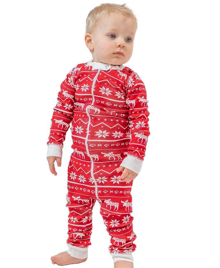 Nordic Moose | Infant Union Suit