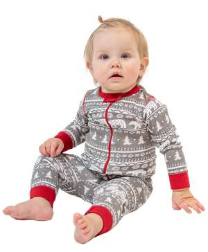 Nordic Bear Infant Union Suit