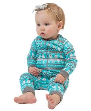 Nordic Snowman Infant Union Suit