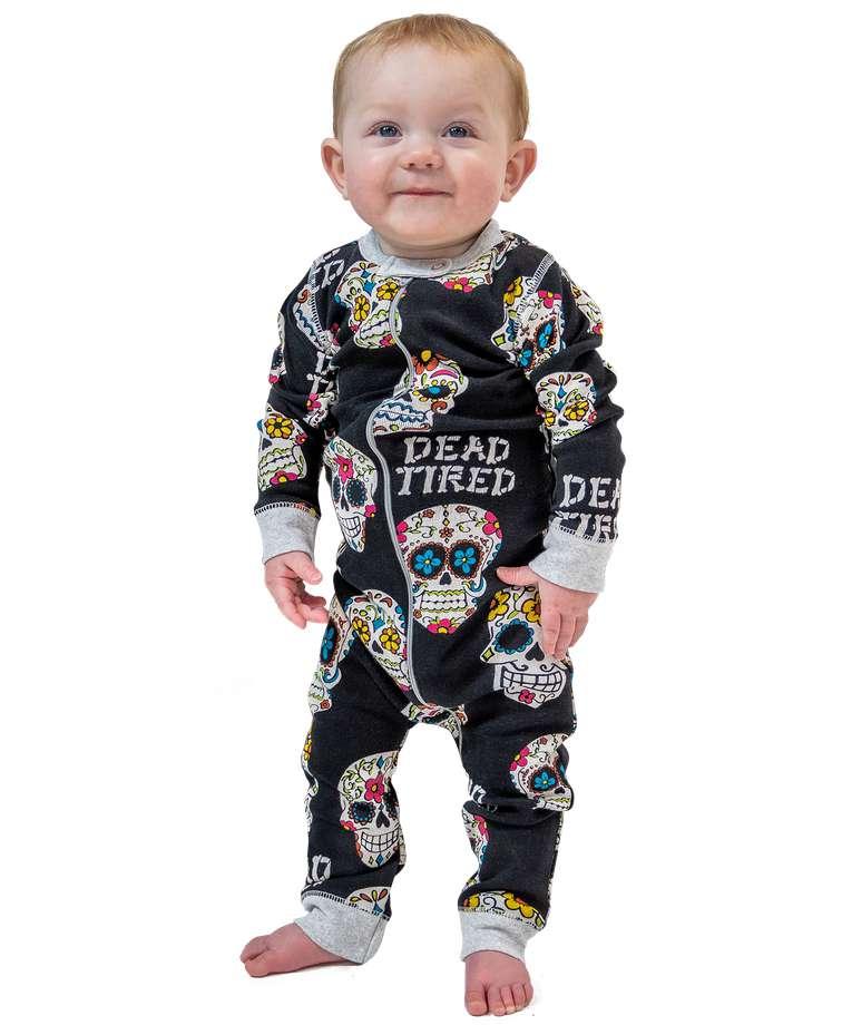 Dead Tired | Infant Union Suit