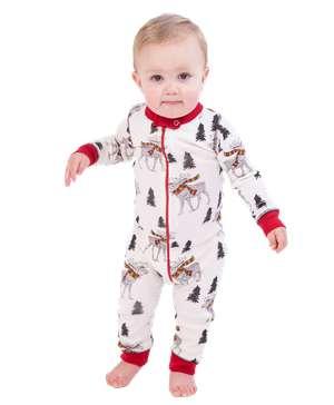Moosletoe Infant Union Suit