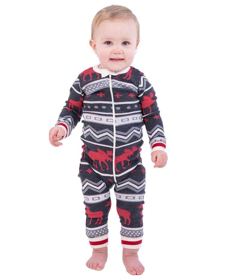 Cabin Moose Infant Union Suit