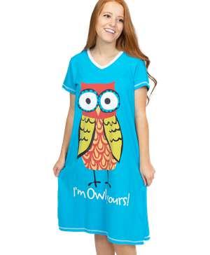 I'm Owl Yours Women's V-neck Nightshirt