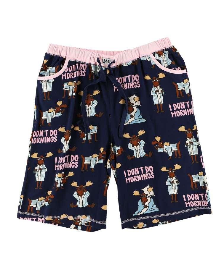 Don't Do Mornings Women's Moose Bermuda Shorts
