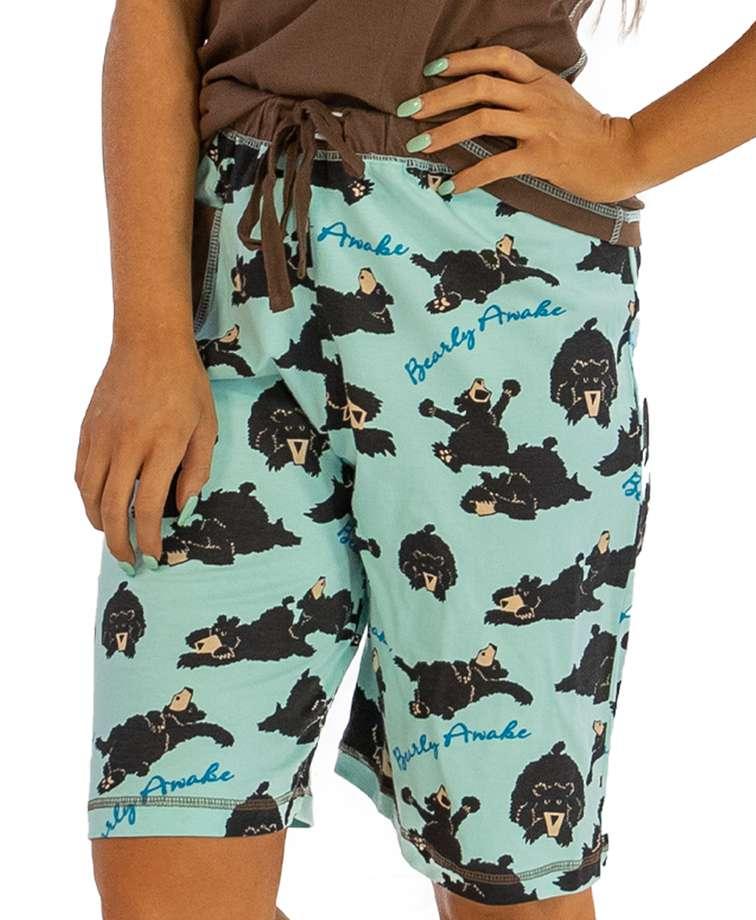 Bearly Awake Women's Bermuda Shorts