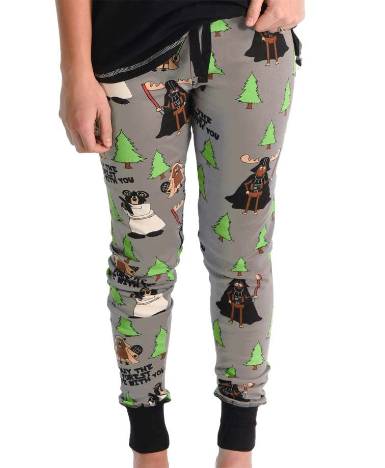 May The Forest Be With You Women's Moose Legging