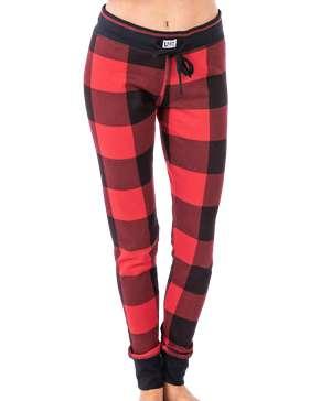 Red Plaid Women's Legging