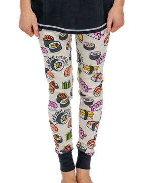 I Just Rolled Out of Bed Women's Sushi Legging