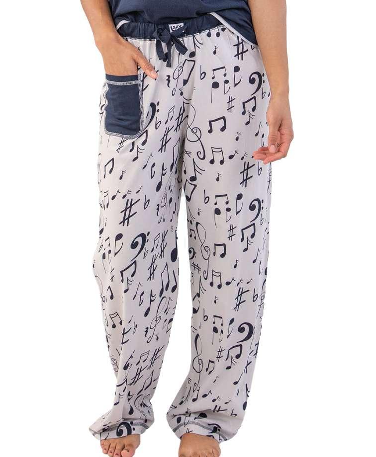 Here Comes Treble Women's Music Regular Fit PJ Pant