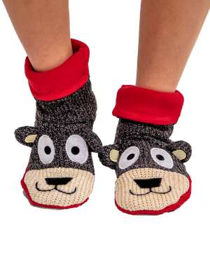 Bear Woodland Slipper