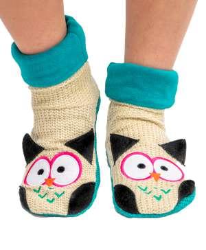 Owl Woodland Slipper