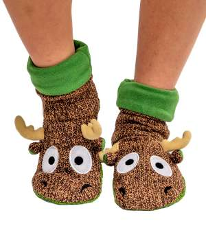 Moose Woodland Slipper