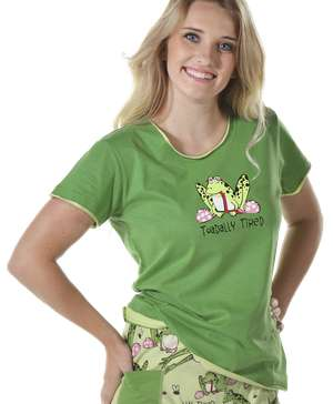 Toadally Tired Women's Fitted Tee