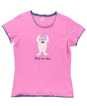 Yeti For Bed Women's Fitted Tee