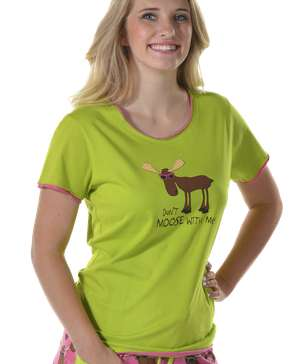 Don't Moose With Me | Women's Fitted Tee