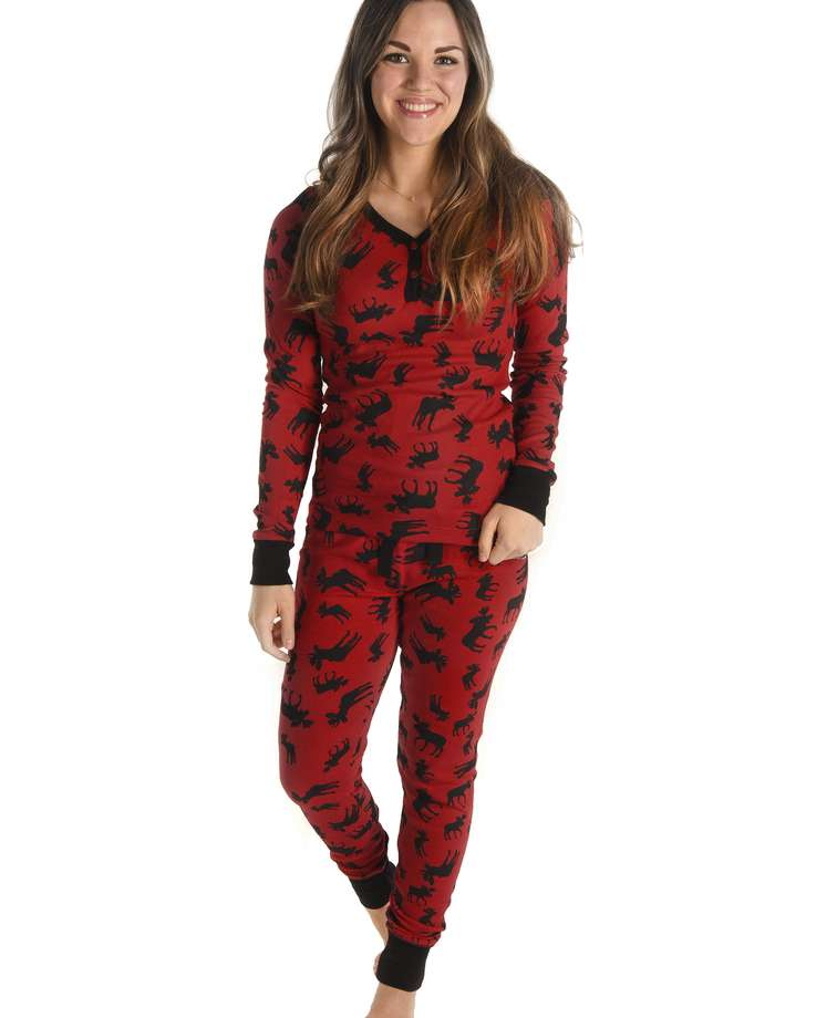 Classic Moose Women's Thermal Set