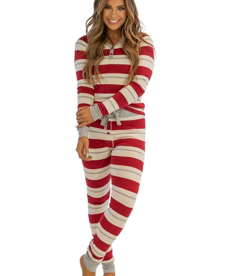 Country Stripe Women's PJ Legging Set