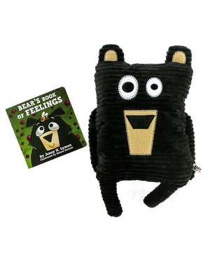Bear's Book of Feelings and Bear Critter Pet