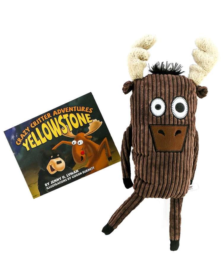Critter Adventure Yellowstone Book Moose Critter Pet