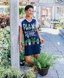 Plant Lady Women's V-Neck Nightshirt