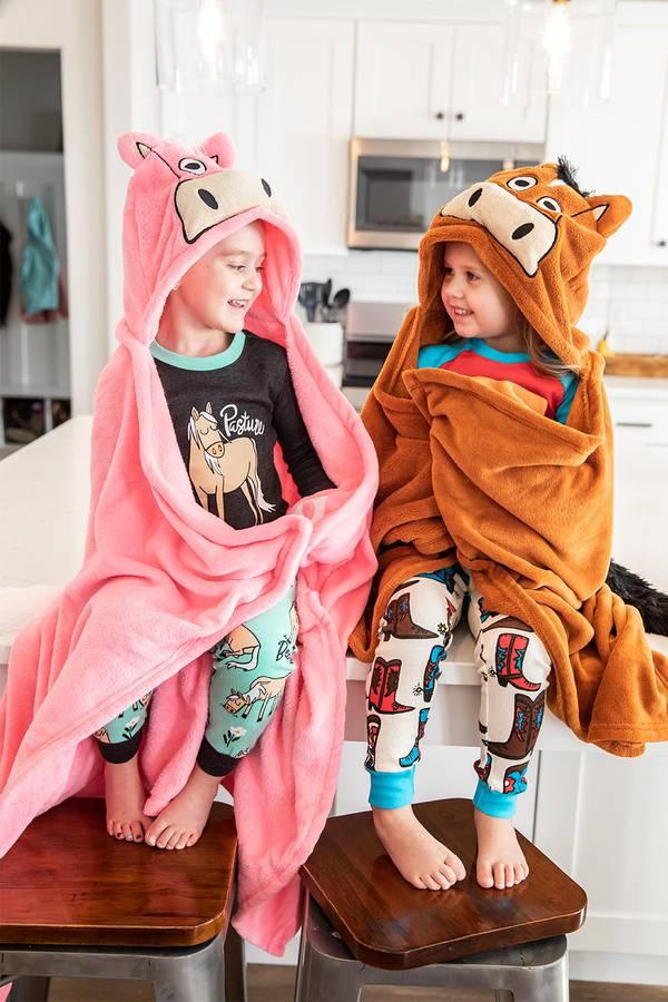 Cute Hooded Blankets