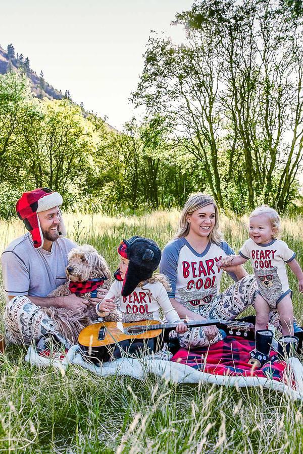 Beary Cool Family Matching Pajamas