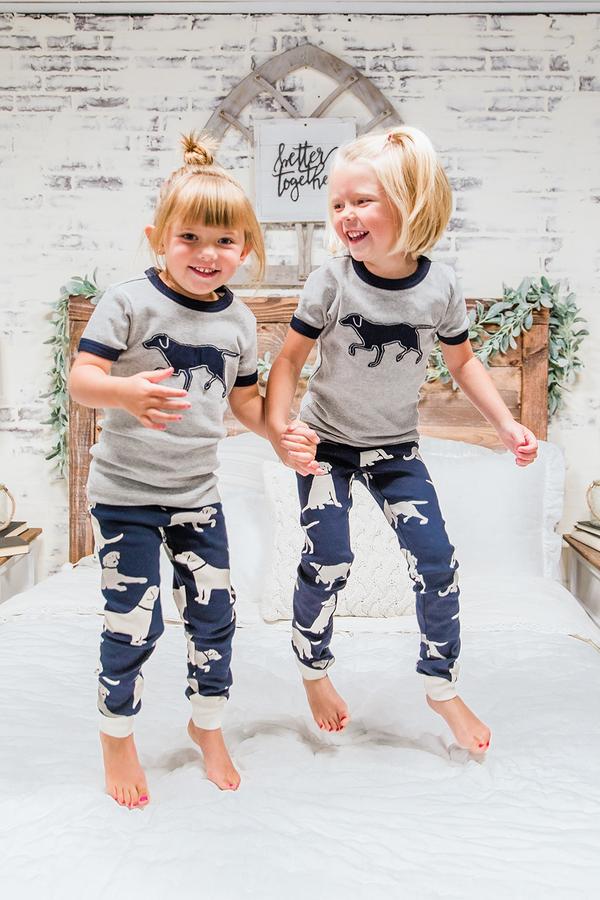 Kids Short Sleeve Pajamas