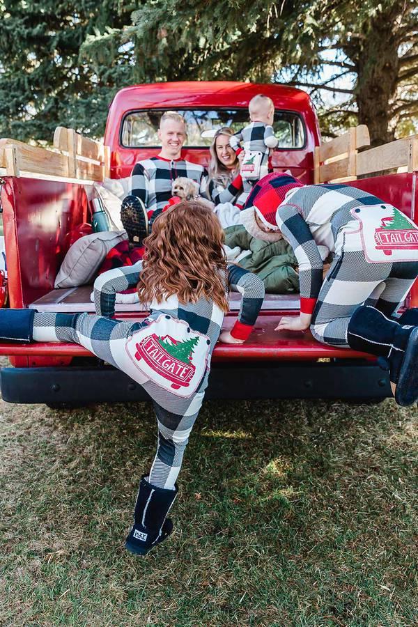 Tailgate Matching Christmas Pajamas