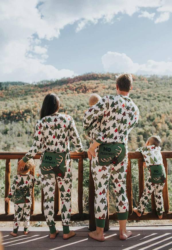 No Peeking Christmas Pajamas