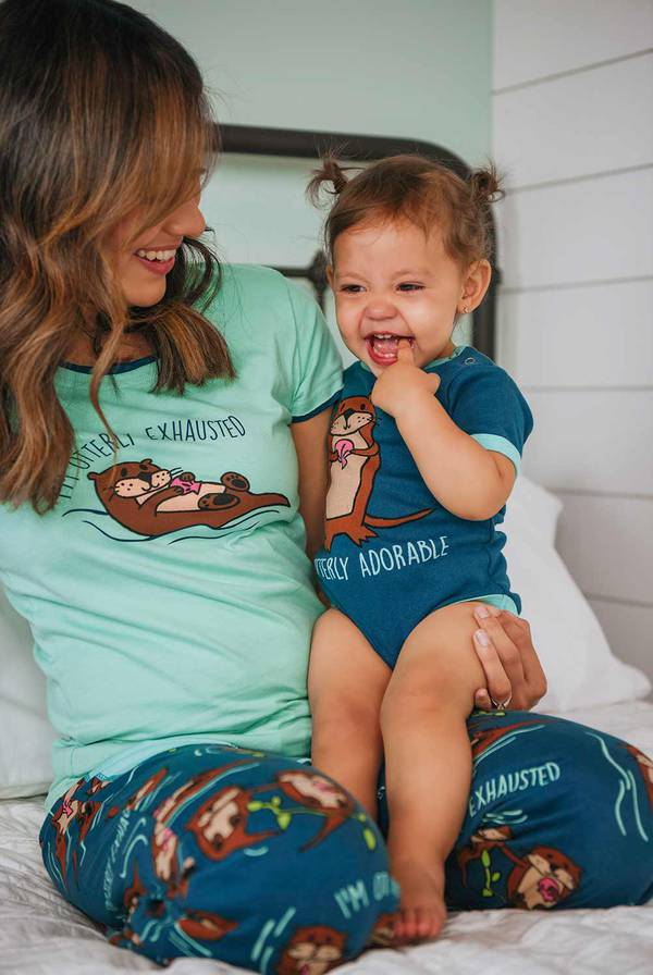 Otter Pajamas and Gifts