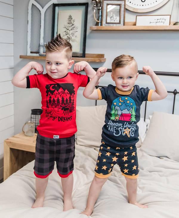 Kids PJ Short Sets