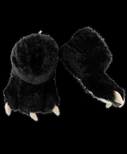 fe8c89d883da ... Black Bear | Paw Slipper image thumbnail ...