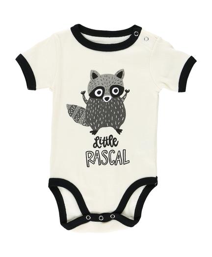 d5ab23e97 Little Rascal - Raccoon | Infant Creeper Onesie image