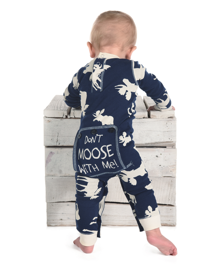 7e77449df8d4 Classic Moose Family Matching Onesies by LazyOne