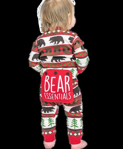 388668ec8a Bear Essential Onesie Family Matching Pajamas by LazyOne