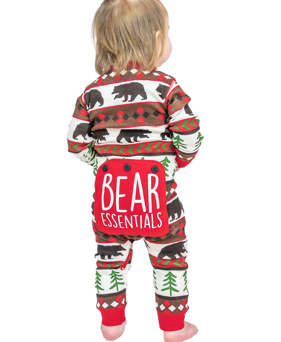 Bear Essentials Infant Onesie Flapjack Lazyone