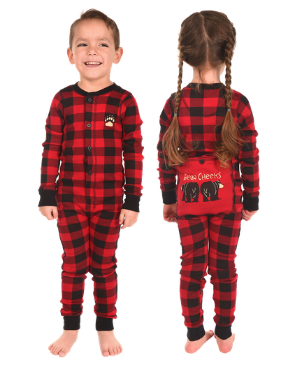c0b65b5722a Bear Cheeks Onesie Family Matching Pajamas by LazyOne
