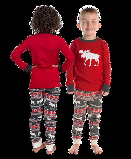 4e4b7bb005 Moose Fair Isle | Kid PJ Set image