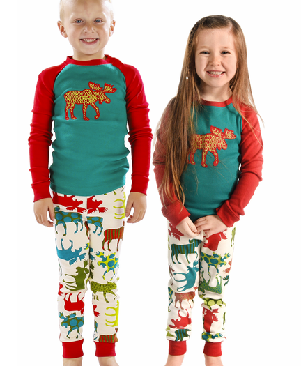 Christmas Pj.Matching Kids Christmas Pajamas Cute Comfy Fun Lazyone