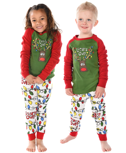 90d4ee5526 Lights Out Family Matching Pajamas by LazyOne