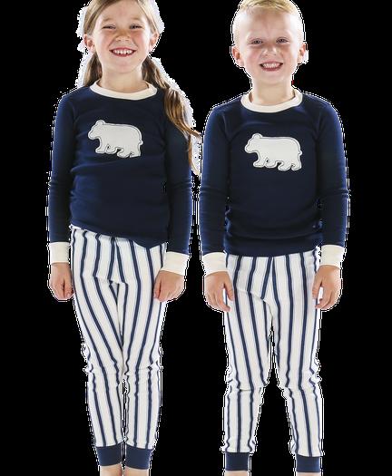 a14ab3c439 Ticking Bear Family Matching Pajamas by LazyOne