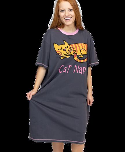 52f8494b6571 Women's Nightshirts- Fun, Comfortable, Cute | LazyOne